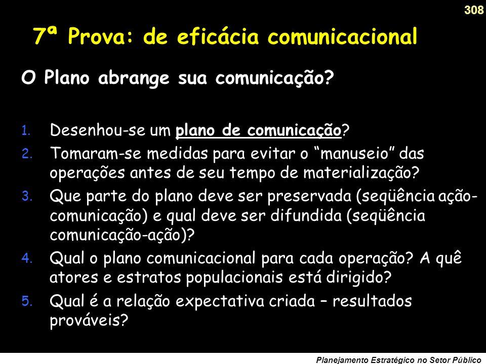 7ª Prova: de eficácia comunicacional