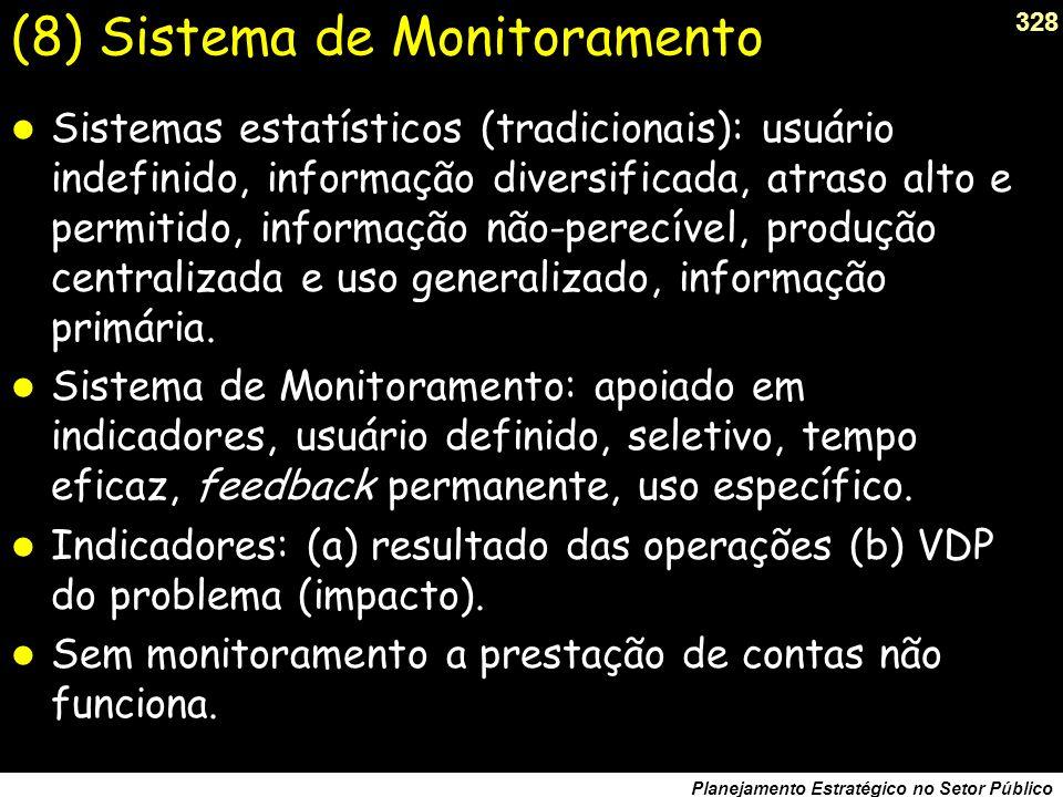 (8) Sistema de Monitoramento
