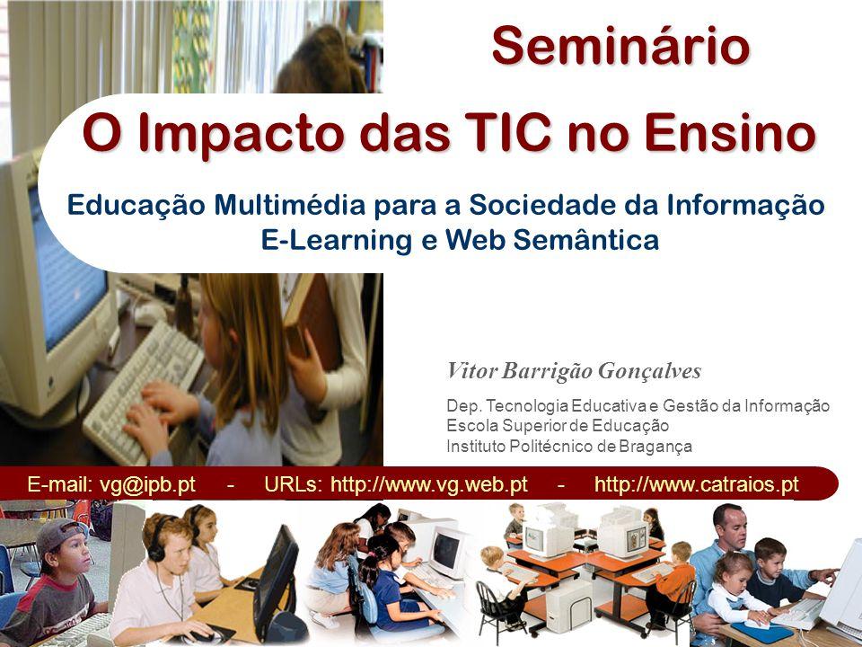 O Impacto das TIC no Ensino