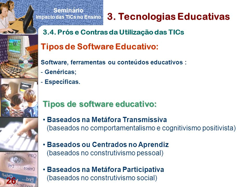 3. Tecnologias Educativas