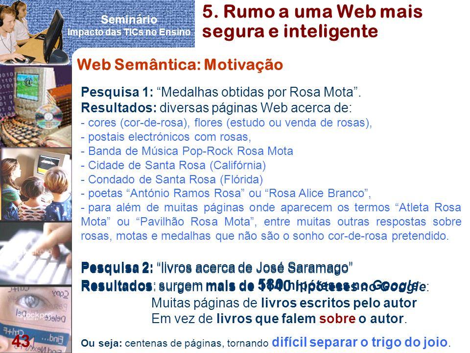 5. Rumo a uma Web mais segura e inteligente