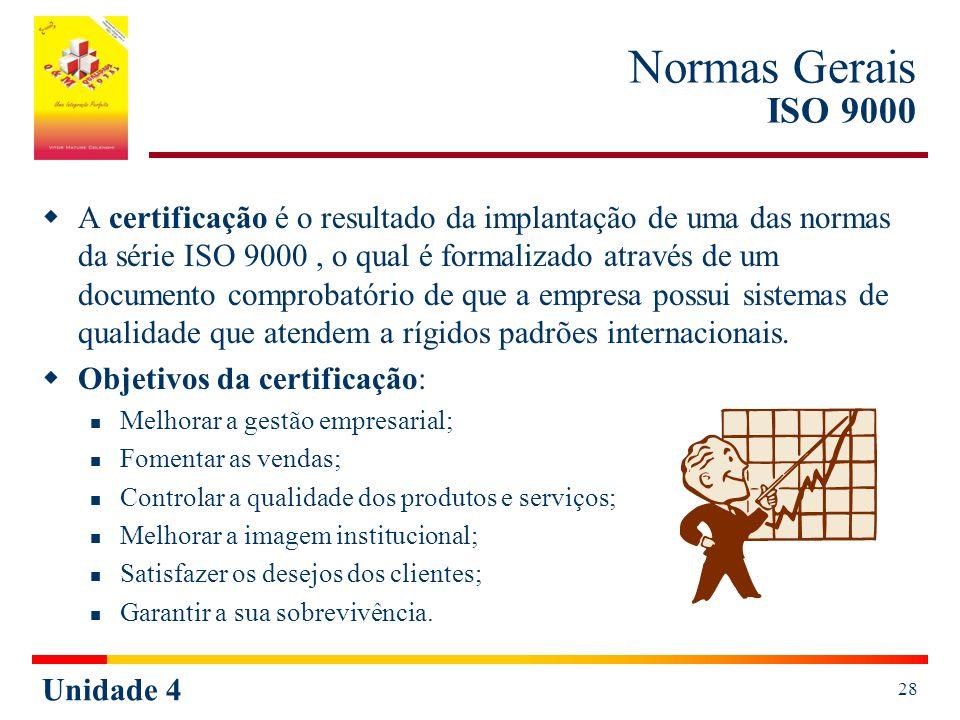 Normas Gerais ISO 9000
