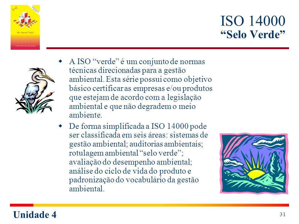 ISO 14000 Selo Verde