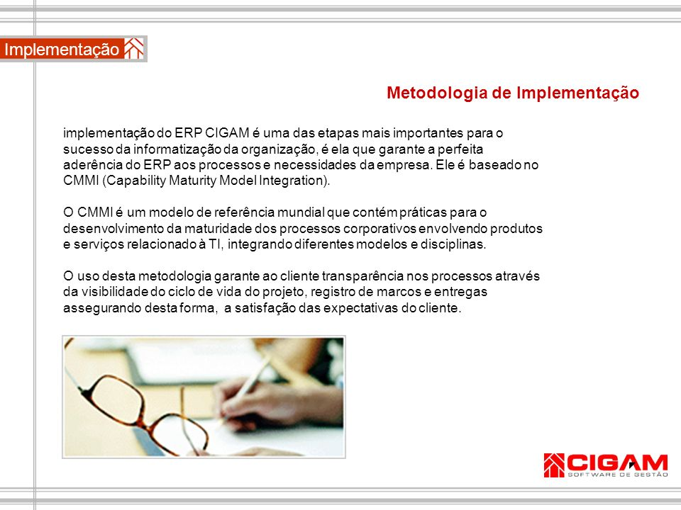 Metodologia de Implementação
