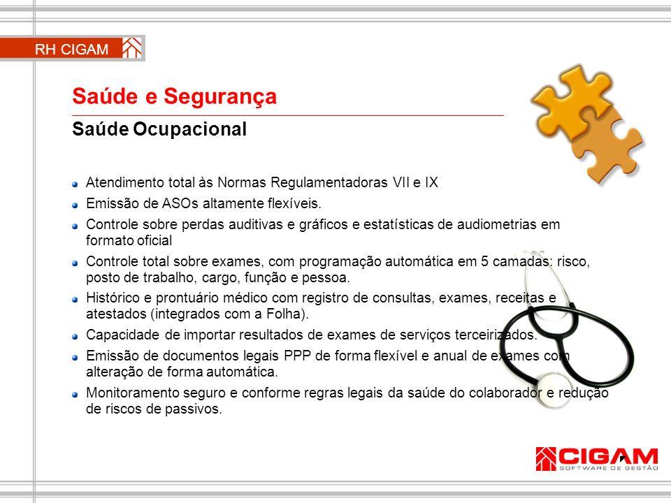 Saúde e Segurança Saúde Ocupacional RH CIGAM
