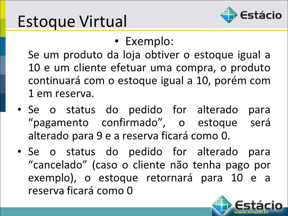 Estoque Virtual