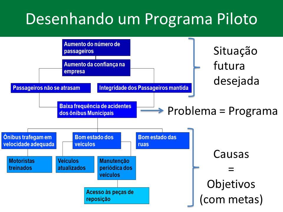 Desenhando um Programa Piloto