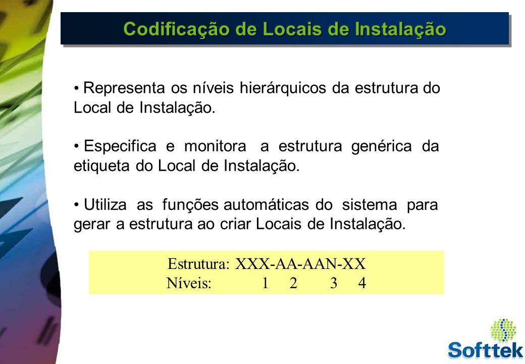 Codificação de Locais de Instalação