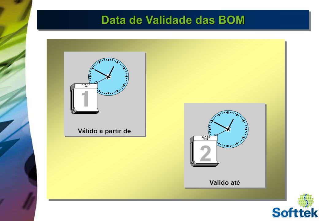 Data de Validade das BOM