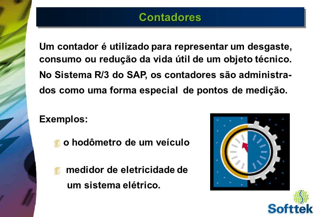 Contadores Um contador é utilizado para representar um desgaste, consumo ou redução da vida útil de um objeto técnico.