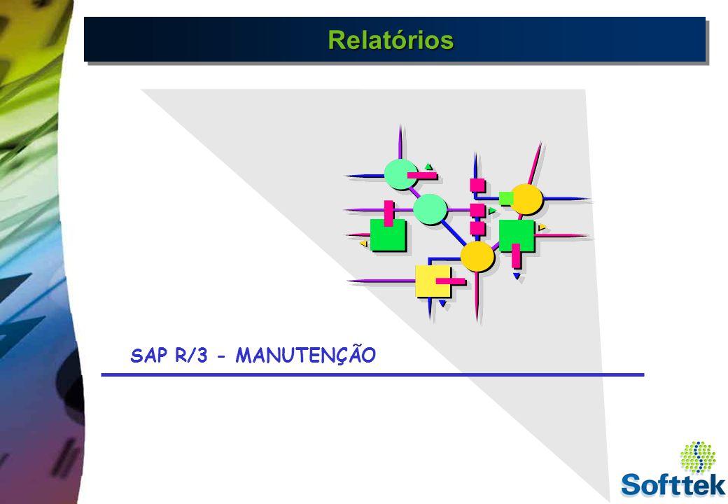 Relatórios SAP R/3 - MANUTENÇÃO