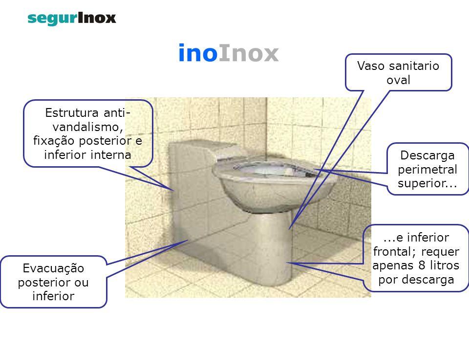 inoInox Vaso sanitario oval