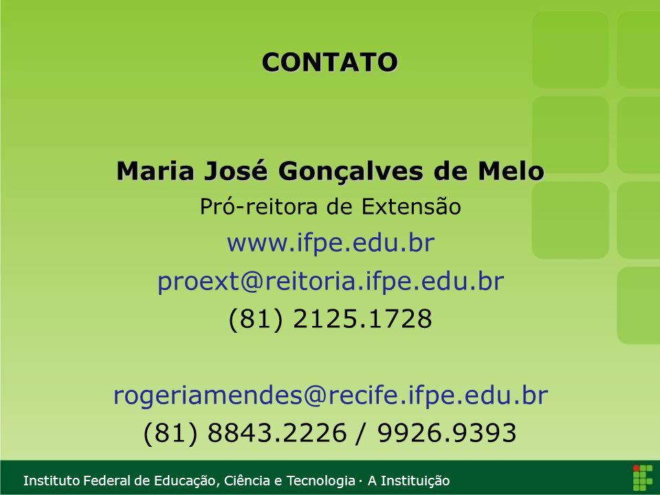 Maria José Gonçalves de Melo