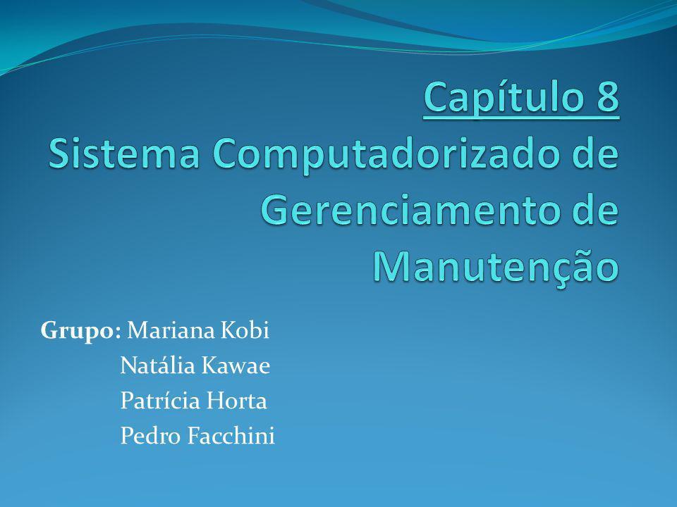 Capítulo 8 Sistema Computadorizado de Gerenciamento de Manutenção