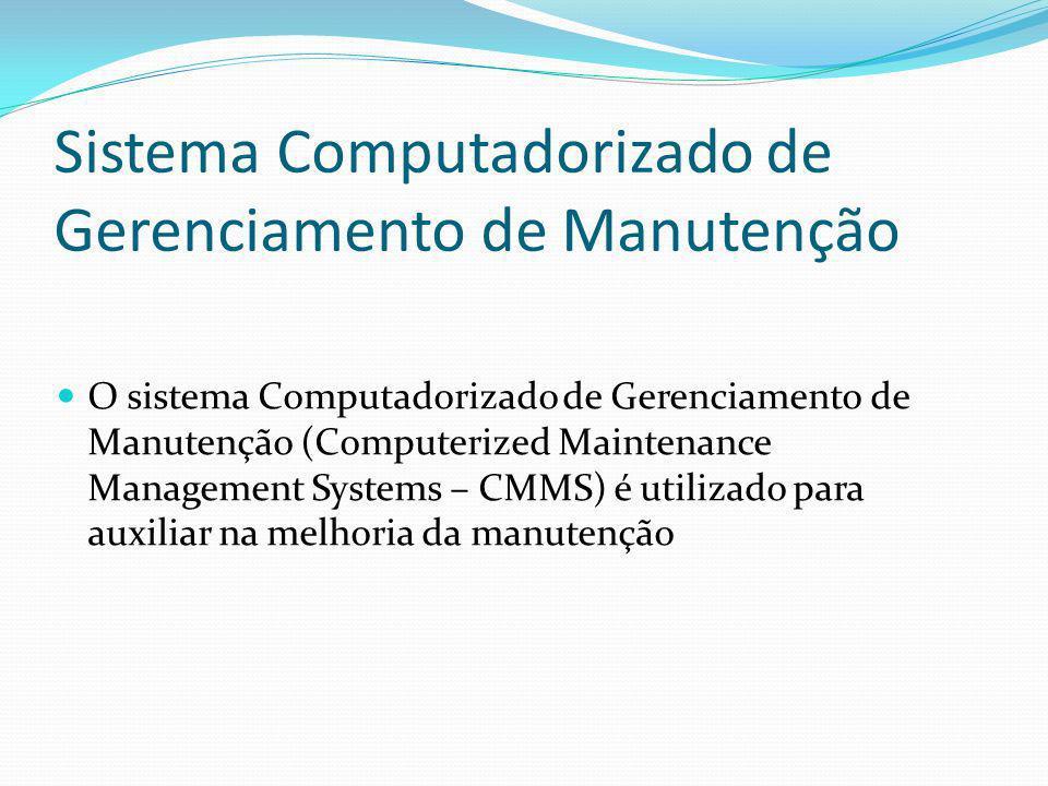 Sistema Computadorizado de Gerenciamento de Manutenção