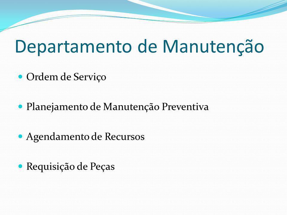 Departamento de Manutenção