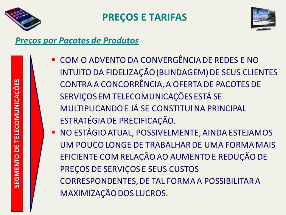SEGMENTO DE TELECOMUNICAÇÕES