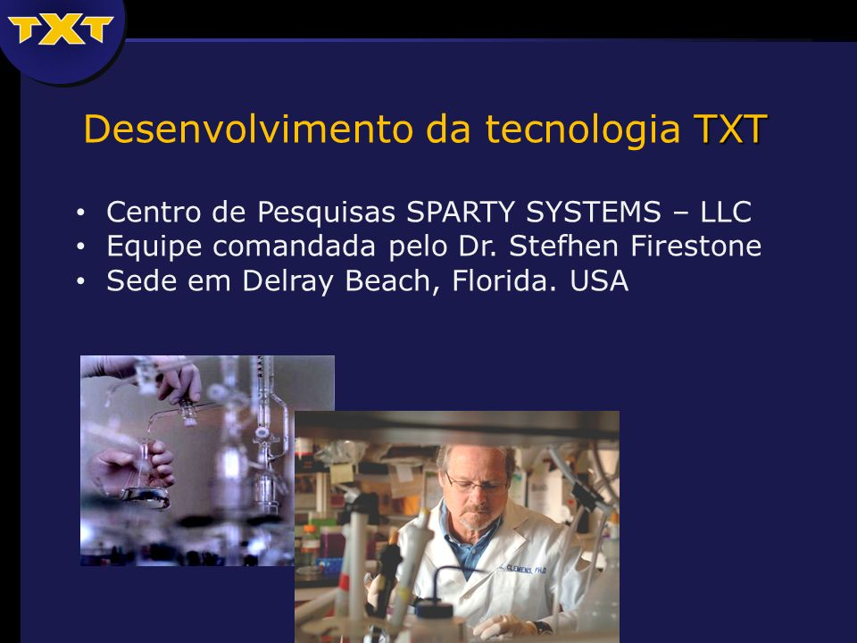 Desenvolvimento da tecnologia TXT