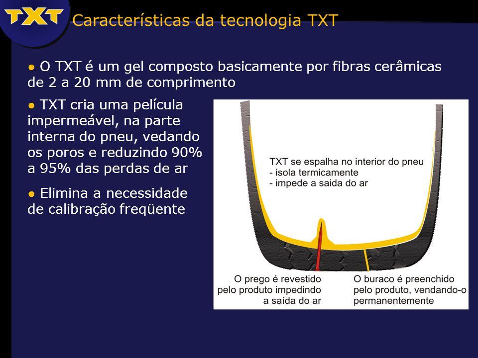 Características da tecnologia TXT
