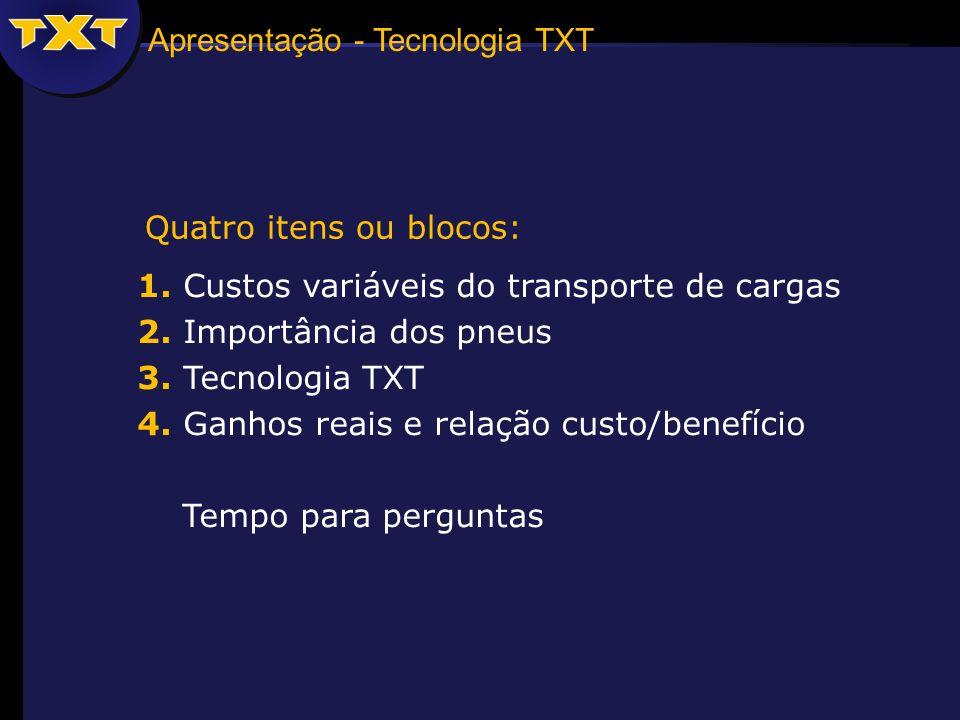 Apresentação - Tecnologia TXT