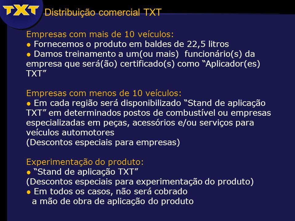 Distribuição comercial TXT