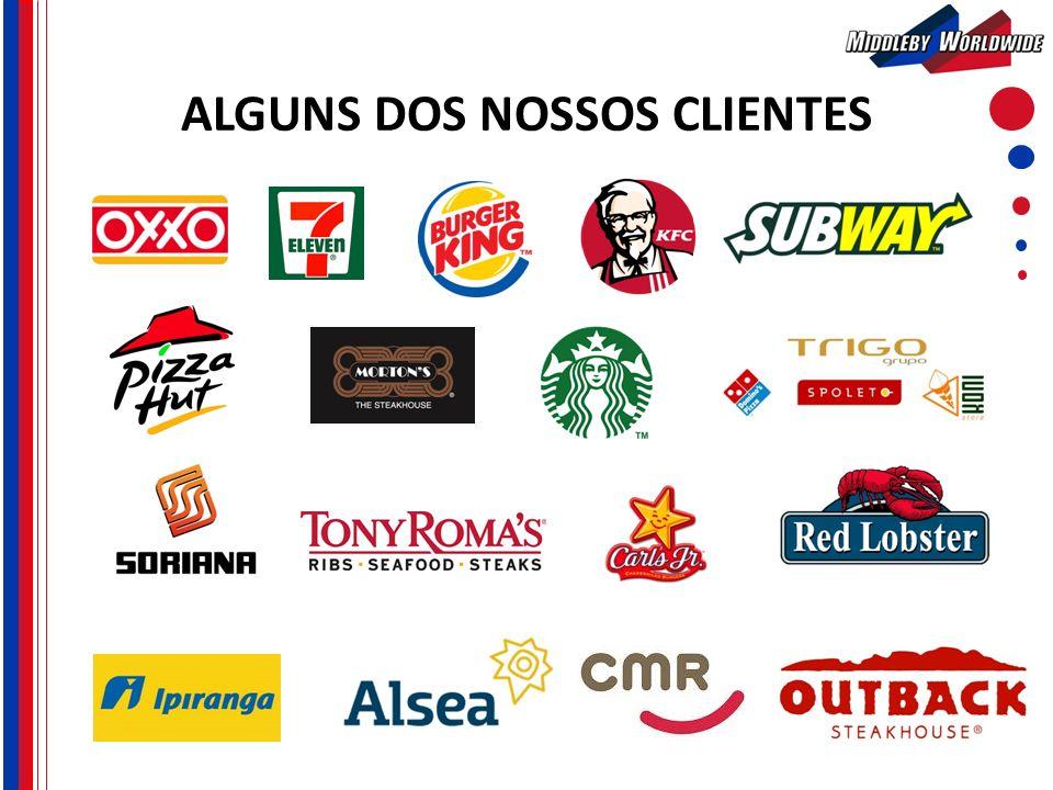 ALGUNS DOS NOSSOS CLIENTES
