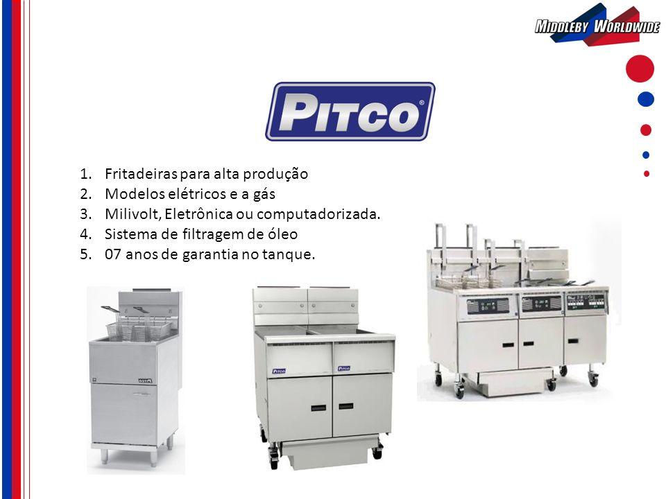 Fritadeiras para alta produção