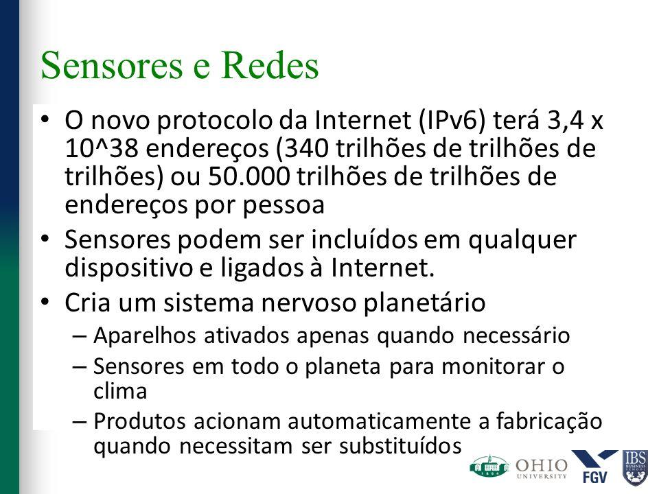 Sensores e Redes