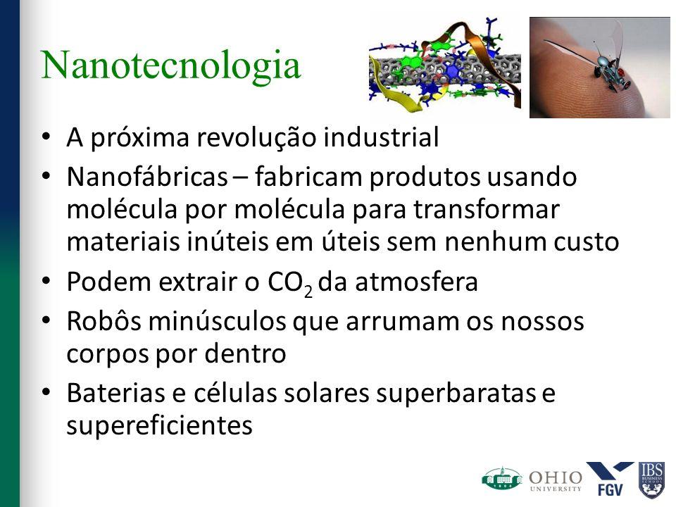 Nanotecnologia A próxima revolução industrial