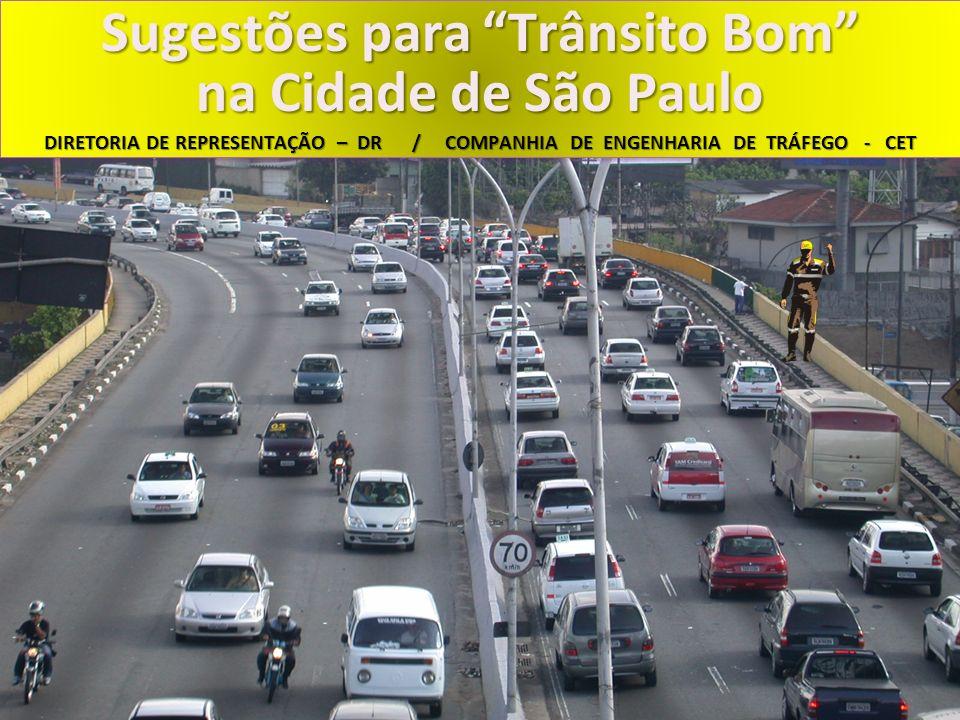 Sugestões para Trânsito Bom