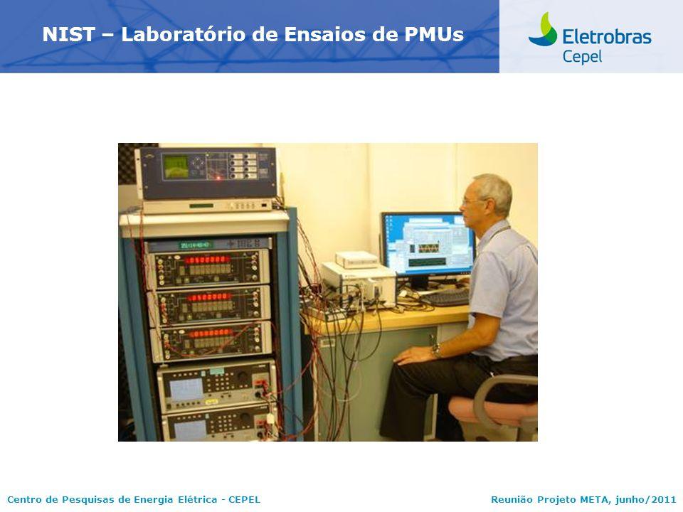 NIST – Laboratório de Ensaios de PMUs