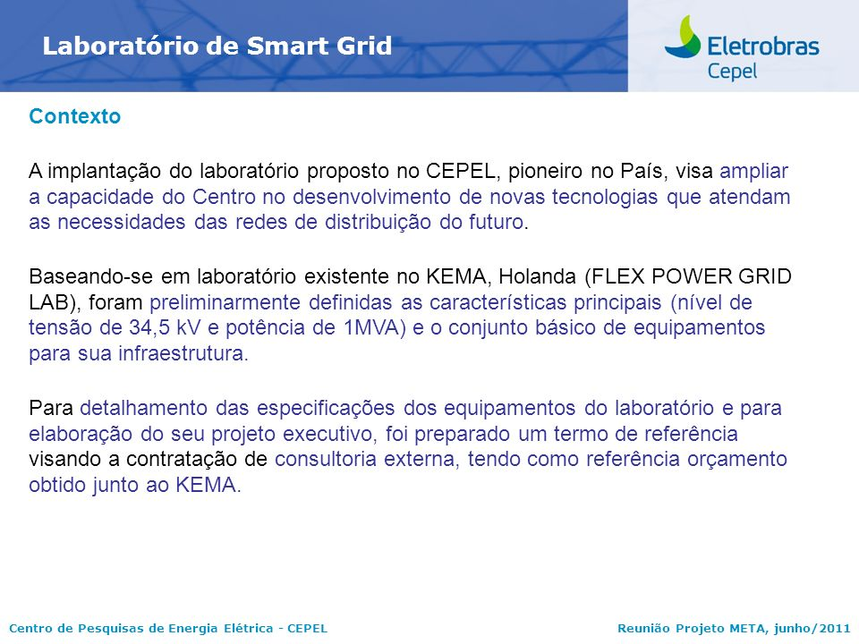 Laboratório de Smart Grid