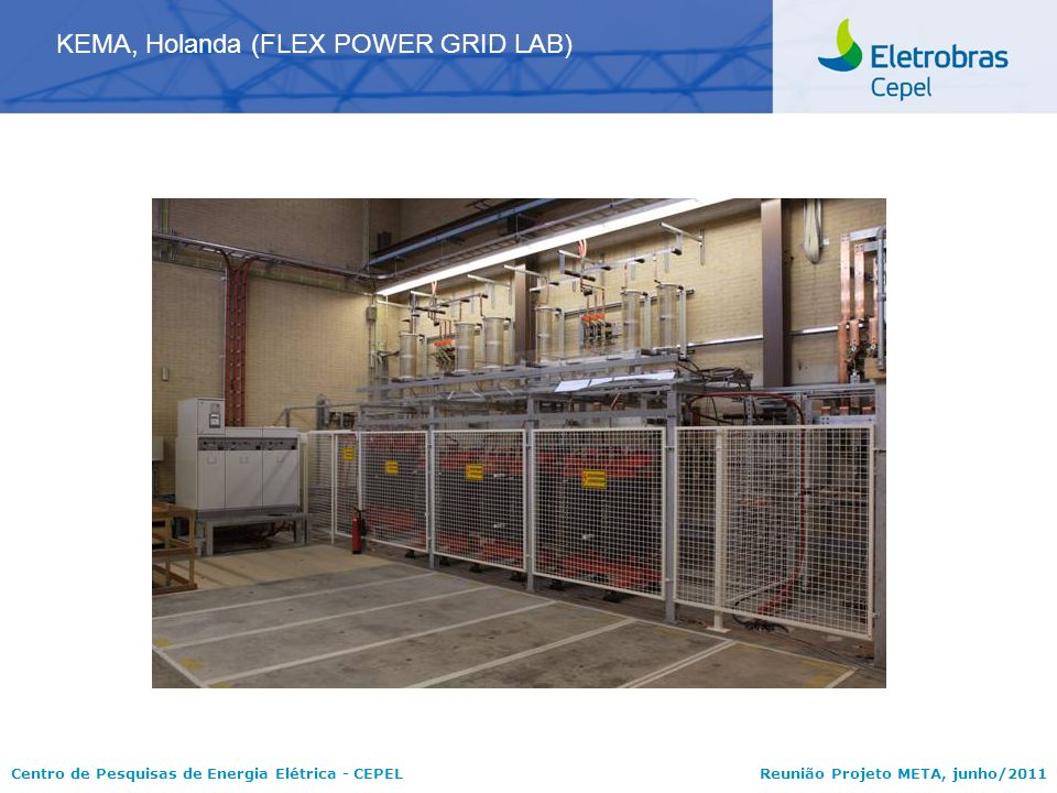 KEMA, Holanda (FLEX POWER GRID LAB)