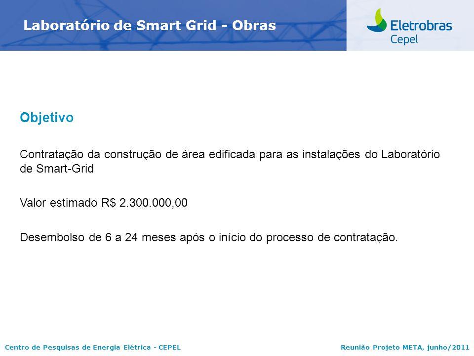 Laboratório de Smart Grid - Obras