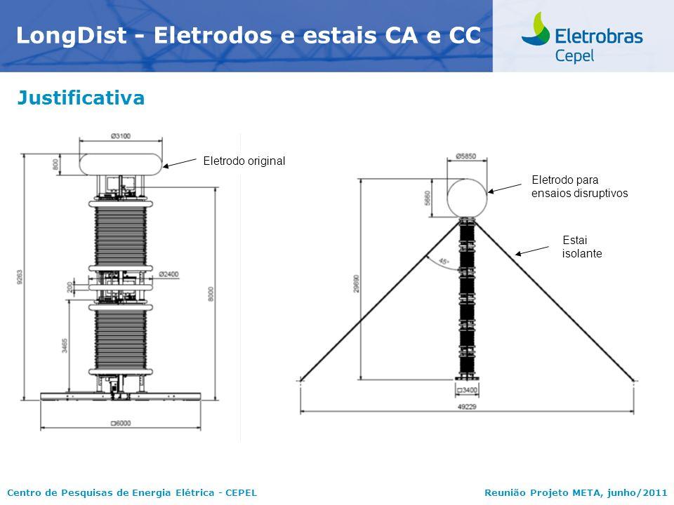 LongDist - Eletrodos e estais CA e CC