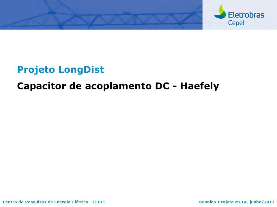 Projeto LongDist Capacitor de acoplamento DC - Haefely