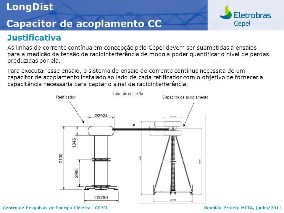 Capacitor de acoplamento CC