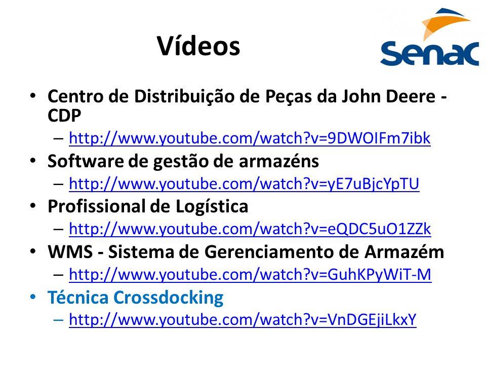 Vídeos Centro de Distribuição de Peças da John Deere - CDP