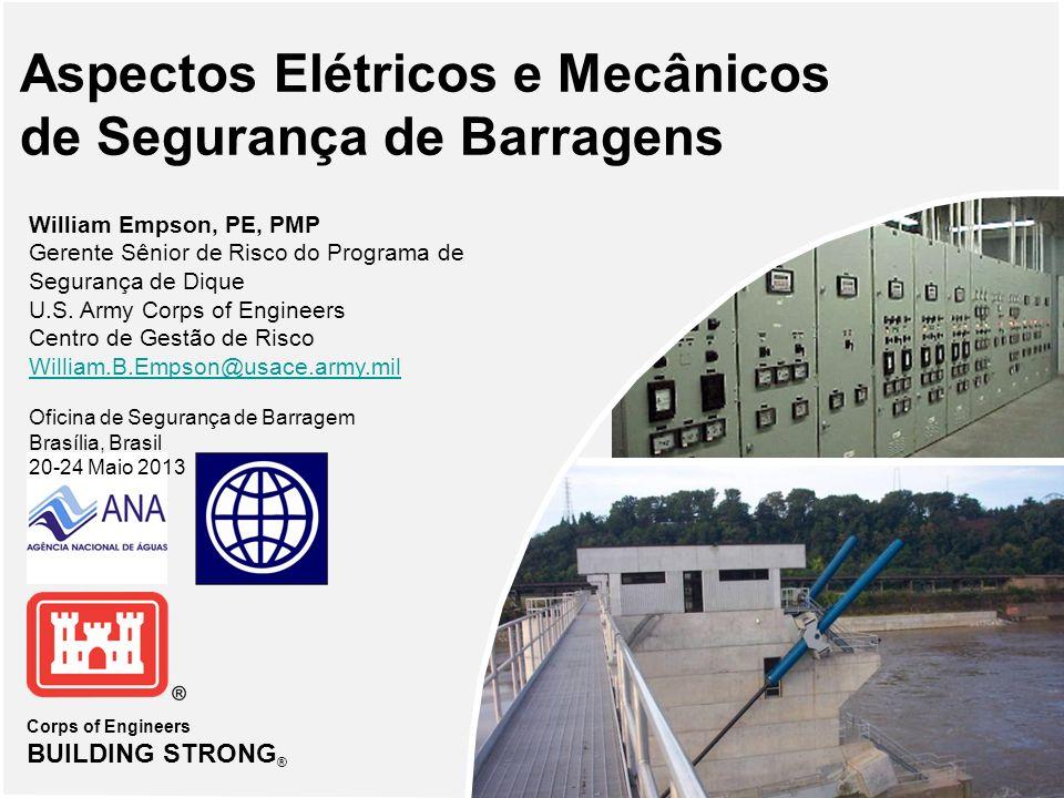 Aspectos Elétricos e Mecânicos de Segurança de Barragens