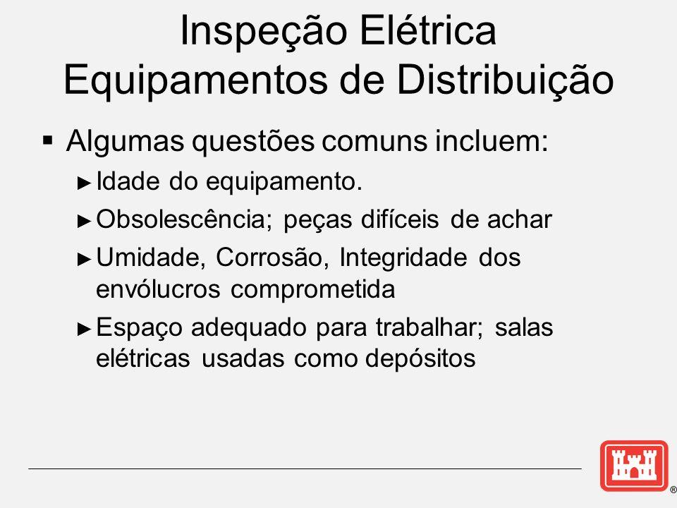 Inspeção Elétrica Equipamentos de Distribuição