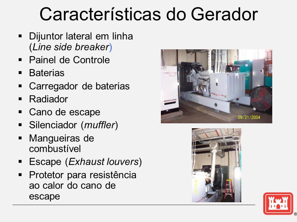 Características do Gerador
