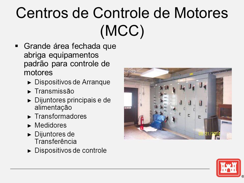 Centros de Controle de Motores (MCC)