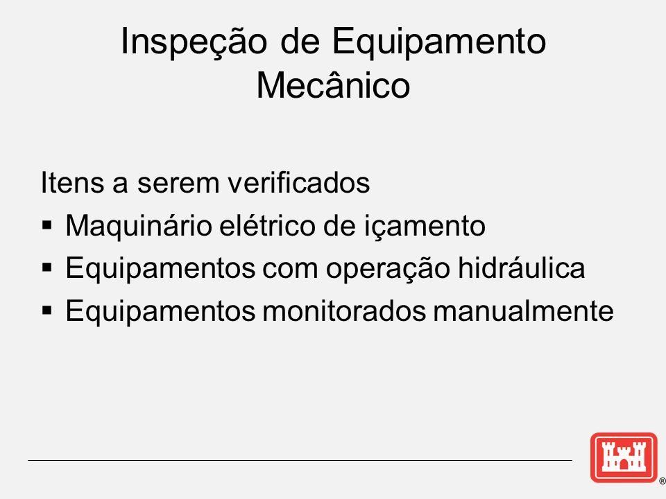 Inspeção de Equipamento Mecânico