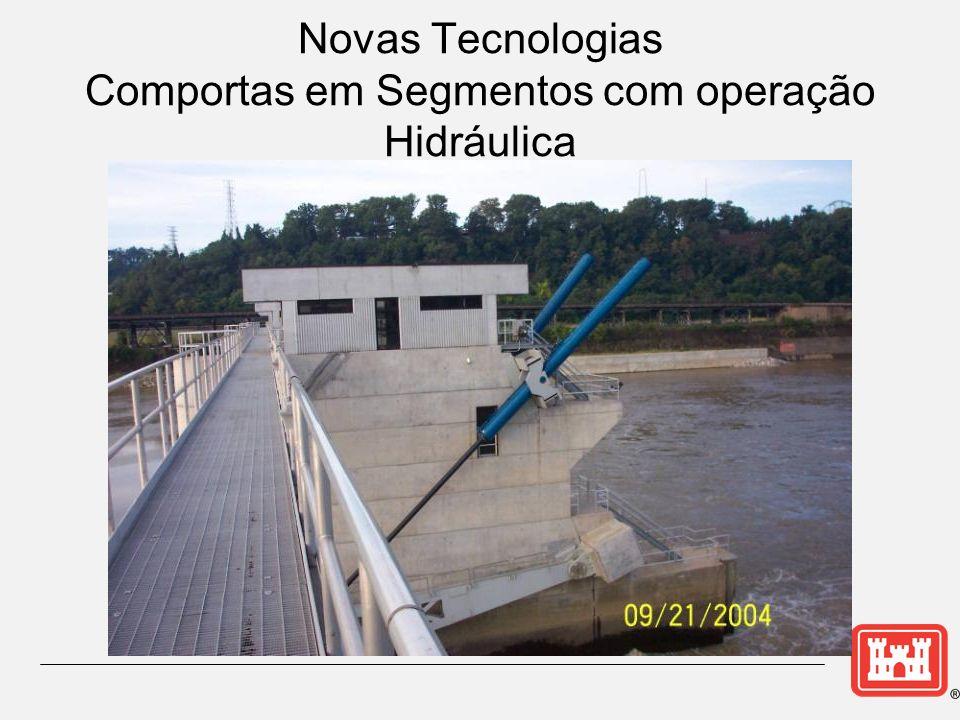 Novas Tecnologias Comportas em Segmentos com operação Hidráulica