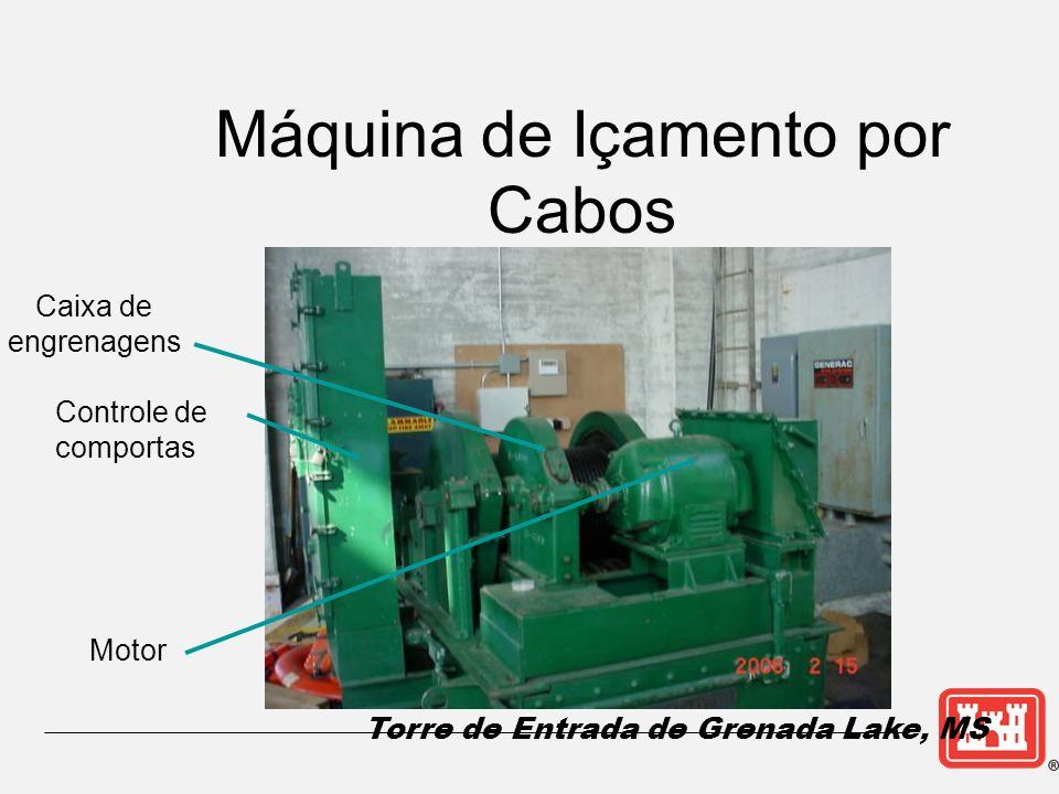 Máquina de Içamento por Cabos