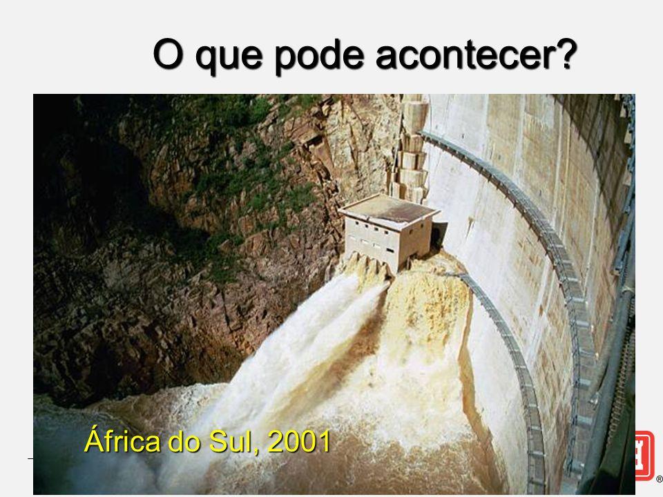 O que pode acontecer África do Sul, 2001