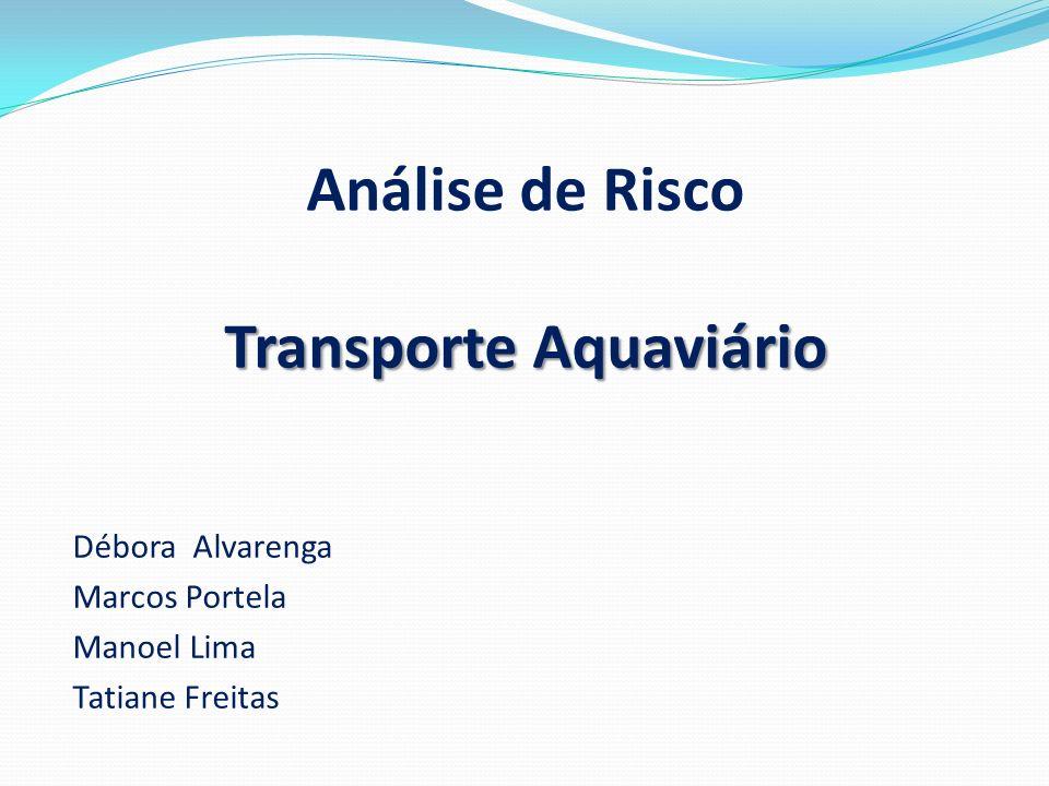 Análise de Risco Transporte Aquaviário