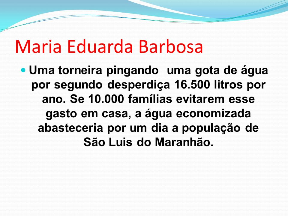 Maria Eduarda Barbosa