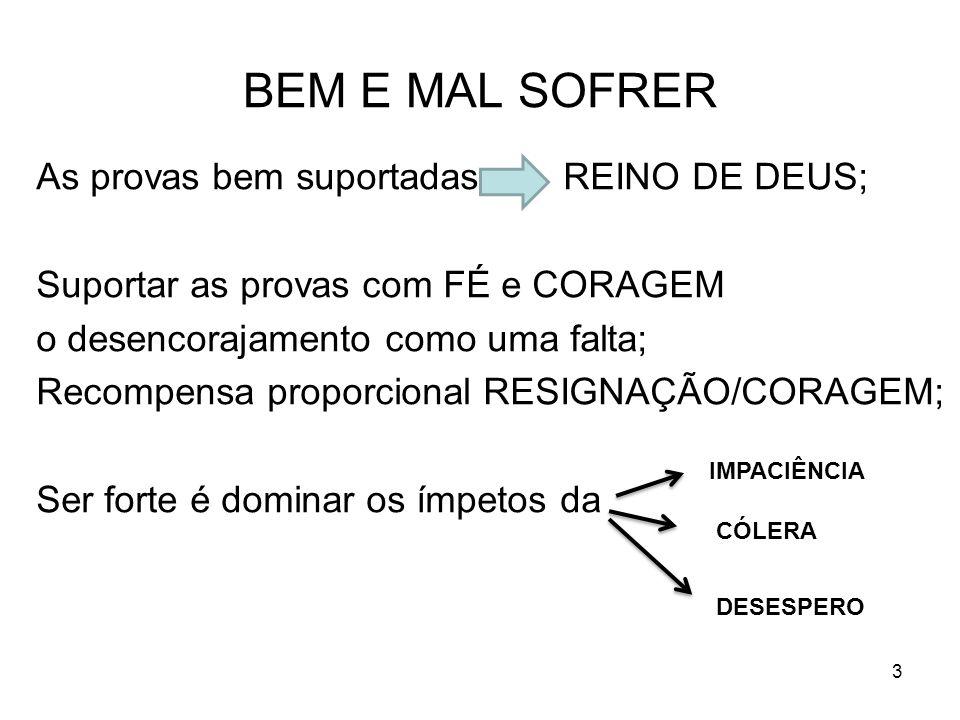 BEM E MAL SOFRER