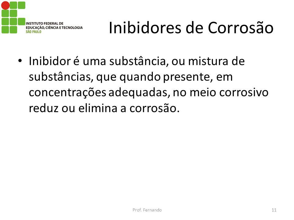 Inibidores de Corrosão